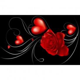 Fototapeta na stenu - FT0198 - Červený kvet