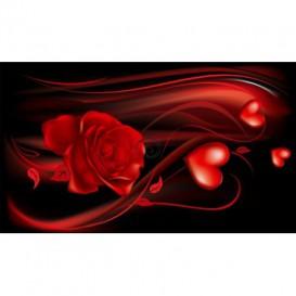 Fototapeta na stenu - FT0199 - Červený kvet