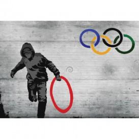Fototapeta na stenu - FT4829 - Banksy