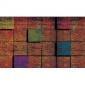 Fototapeta na stenu - FT4842 - 3D hrdzavá stena