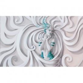 Fototapeta na stenu - FT4848 - 3D žena