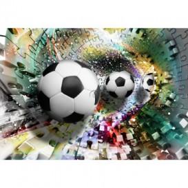 Fototapeta na stenu - FT5109 - 3D futbalová lopta