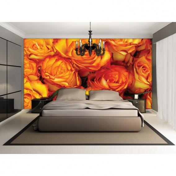 Fototapeta na stenu - FT5119 - Oranžové ruže