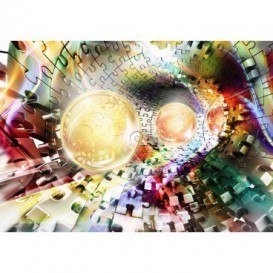 Fototapeta na stenu - FT5129 - 3D abstrakcia