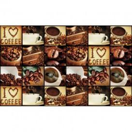 Fototapeta na stenu - FT5150 - Mozaika káva