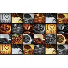 Fototapeta na stenu - FT5151 - Mozaika káva