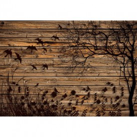Fototapeta na stenu - FT5178 - Drevená stena