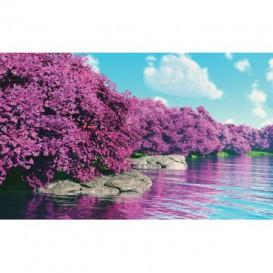Fototapeta na stenu - FT5224 - Ružové stromy