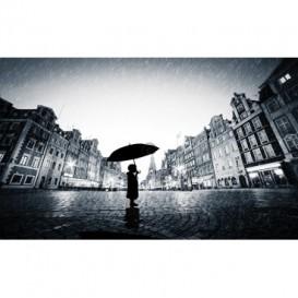 Fototapeta na stenu - FT5225 - Chlapec v daždi
