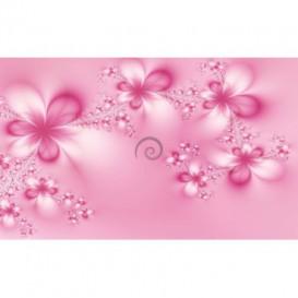 Fototapeta na stenu - FT0469 - Ružové kvety