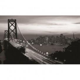 Fototapeta na stenu - FT0292 - Čiernobiely Golden Bridge