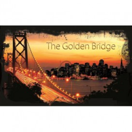 Fototapeta na stenu - FT0293 - Golden Bridge