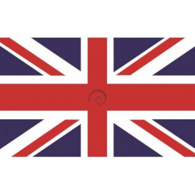 Fototapeta na stenu - FT0537 - Anglická vlajka