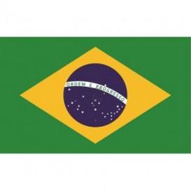Fototapeta na stenu - FT0539 - Brazílska vlajka