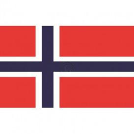Fototapeta na stenu - FT0543 - Nórska vlajka