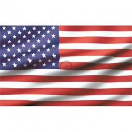 Fototapeta na stenu - FT0532 - Americká vlajka