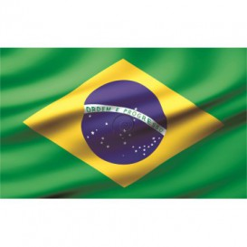 Fototapeta na stenu - FT0540 - Brazílska vlajka