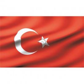Fototapeta na stenu - FT0542 - Turecká vlajka