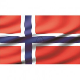 Fototapeta na stenu - FT0544 - Nórska vlajka