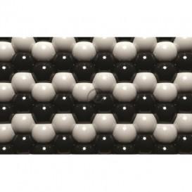 Fototapeta na stenu - FT0587 - 3D Sivé guľôčky