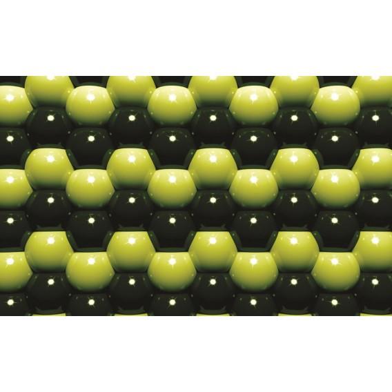 Fototapeta na stenu - FT0585 - 3D Zelené guľôčky