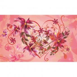Fototapeta na stenu - FT0467 - Kreslené kvety