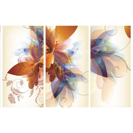 Fototapeta na stenu - FT0464 - Kreslené kvety