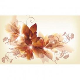 Fototapeta na stenu - FT0462 - Kreslené kvety