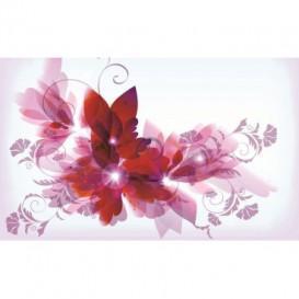 Fototapeta na stenu - FT0461 - Kreslené kvety