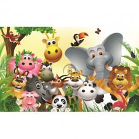 Fototapeta na stenu - FT0758 - Kreslené zvieratká