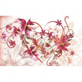 Fototapeta na stenu - FT0418 - Kreslené kvety