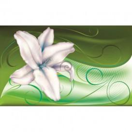 Fototapeta na stenu - FT0441 - Modrobiely kvet