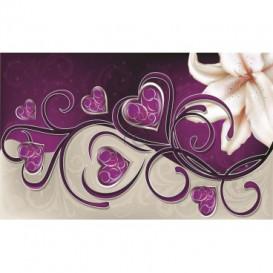 Fototapeta na stenu - FT0443 - Biely kvet