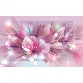 Fototapeta na stenu - FT0240 - Ružové kvety