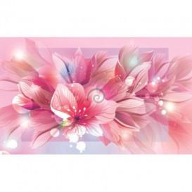 Fototapeta na stenu - FT0241 - Ružové kvety