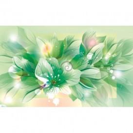 Fototapeta na stenu - FT0244 - Zelené kvety