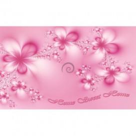 Fototapeta na stenu - FT0619 - Ružové kvety