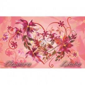 Fototapeta na stenu - FT0475 - Kreslené kvety
