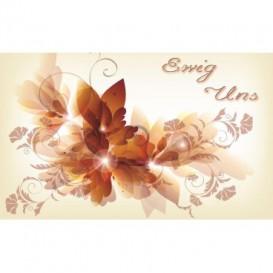 Fototapeta na stenu - FT0476 - Kreslené kvety