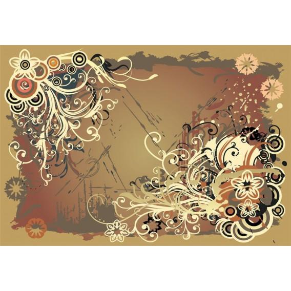 Fototapeta na stenu - FT0417 - Kreslené kvety