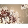 Fototapeta na stenu - FT0416 - Kreslené kvety