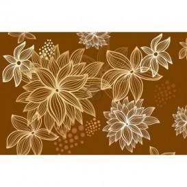 Fototapeta na stenu - FT0415 - Kreslené kvety
