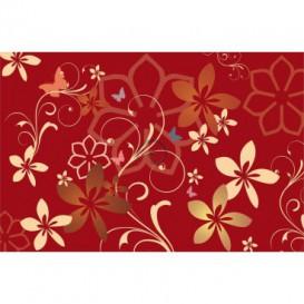 Fototapeta na stenu - FT0414 - Kreslené kvety