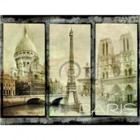 Fototapeta na stenu - FT5348 - Mozaika Paríž