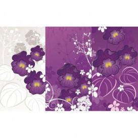 Fototapeta na stenu - FT0479 - Fialové kvety