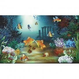 Fototapeta na stenu - FT0250 - Kreslené rybičky