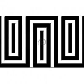 Fototapeta na stenu - FT0481 - Čiernobiely obdĺžnik