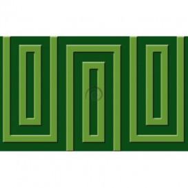 Fototapeta na stenu - FT0489 - Zelený obdĺžnik