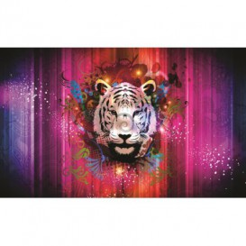 Fototapeta na stenu - FT0258 - Farebný tiger