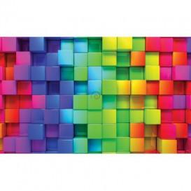 Fototapeta na stenu - FT5483 - Farebné tehličky
